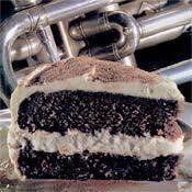 CHOCOLATE- RAISIN MASCARPONE CAKE
