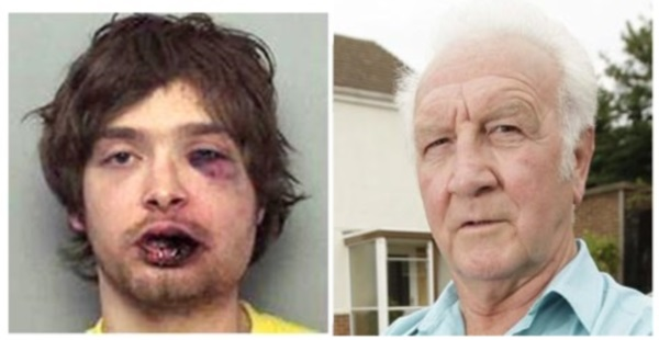 Burglar left bruised and bleeding by retired boxer, 72