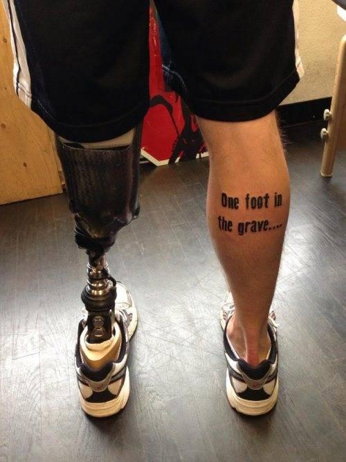 fantastic foot tatoo