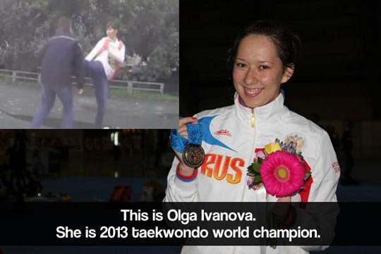 cool-Olga-Ivanova-self-defense-taekwondo-champion