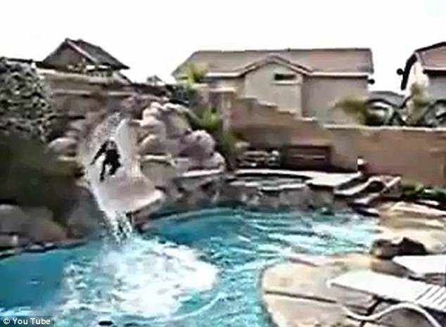 hidden camera catches pool crashers i 39 m just sayin