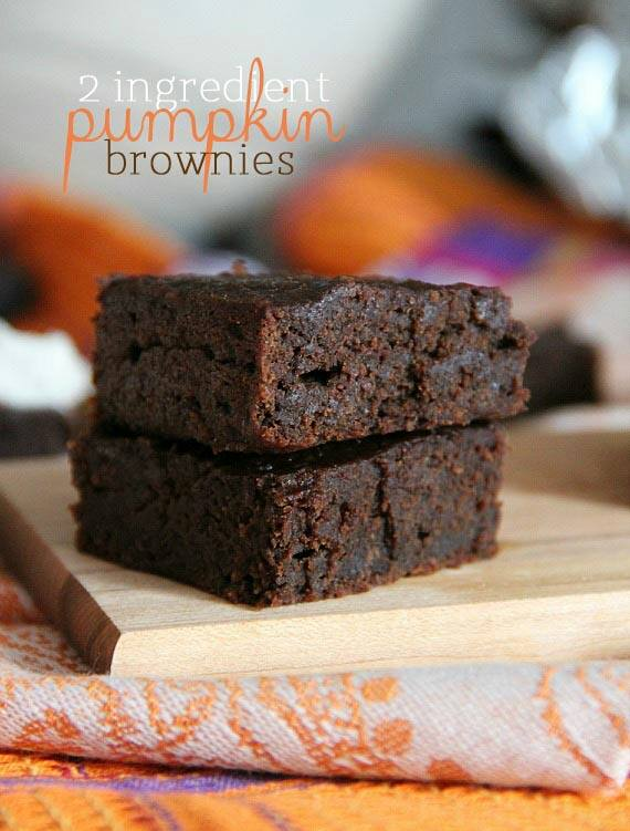 recipes pumpkin brownies
