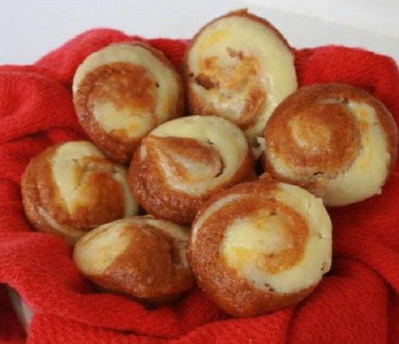 recipes pimpkin cheesevake muffins