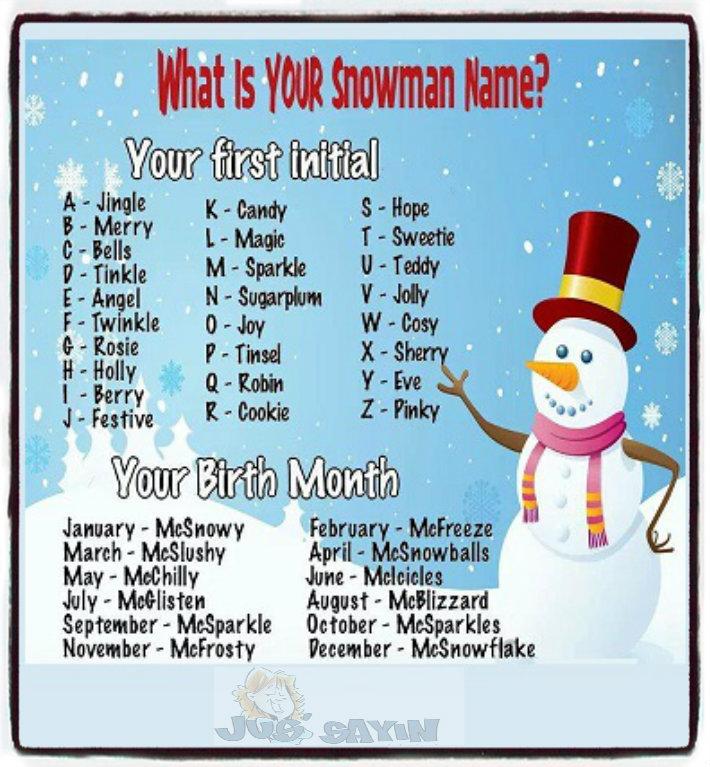 js snowman