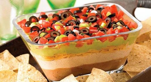 Delicious 7 Layer Fiesta Dip - I'm Just Sayin