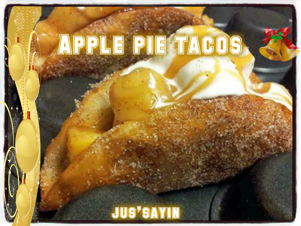js apple pie tacos