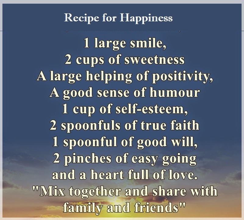 link recipe for hapiness