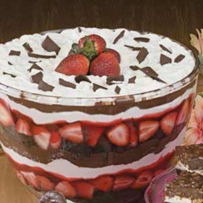 Chocolate-Strawberry-Trifle