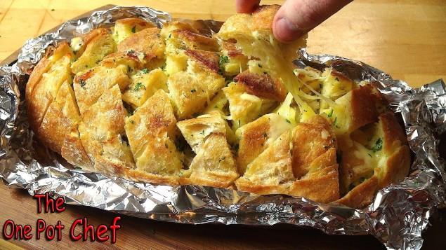 Чесночный хлеб рецепт с фото