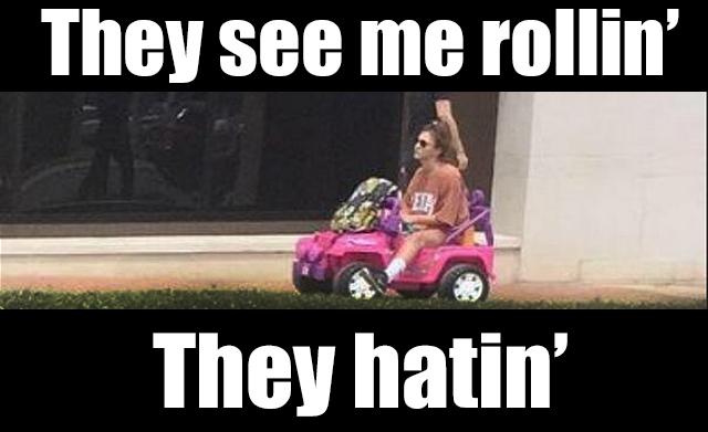 barbie hatin