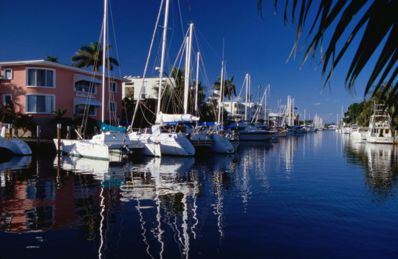 Canals and boats - Fort Lauderdale, Florida