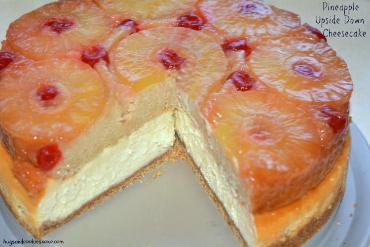 Pineapple Upside Down Cheesecake I M Just Sayin